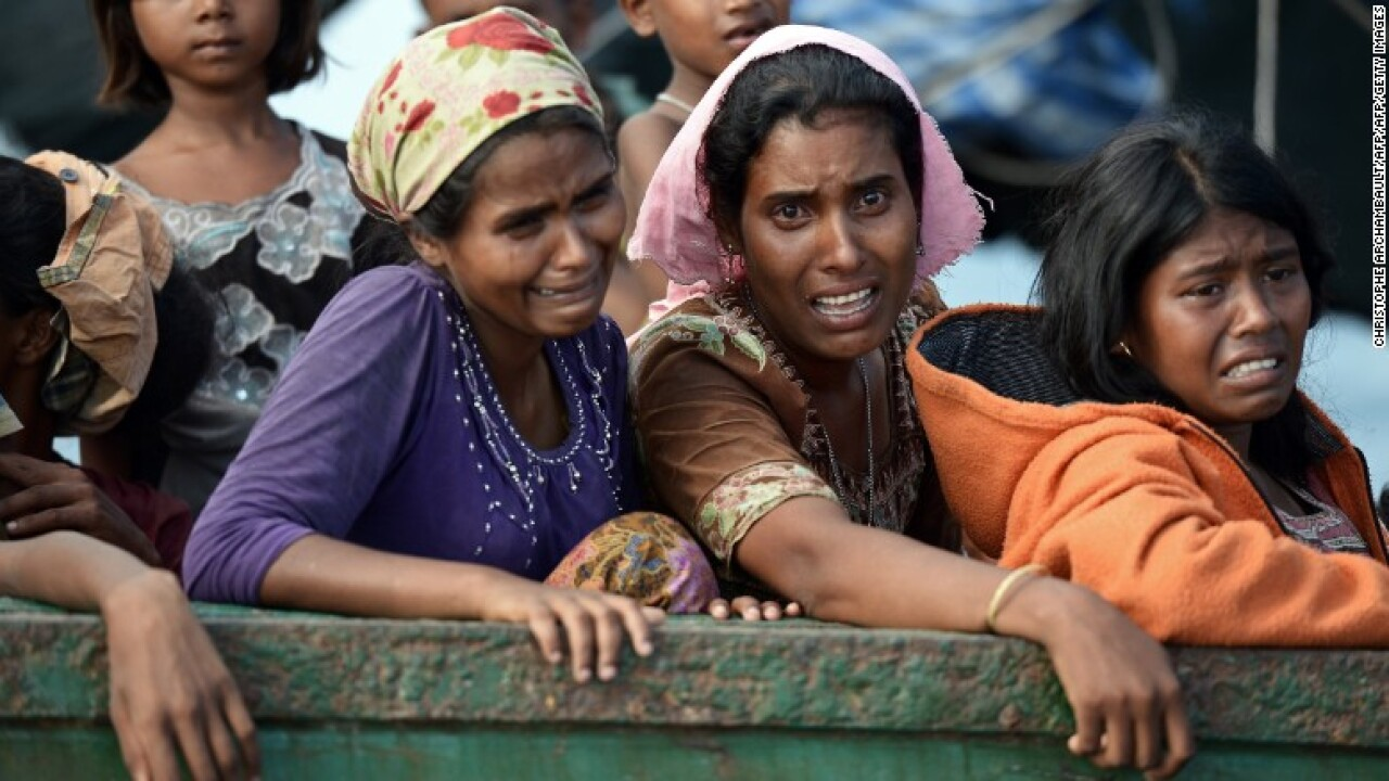 Pope explains why he didn't use the word 'Rohingyas'