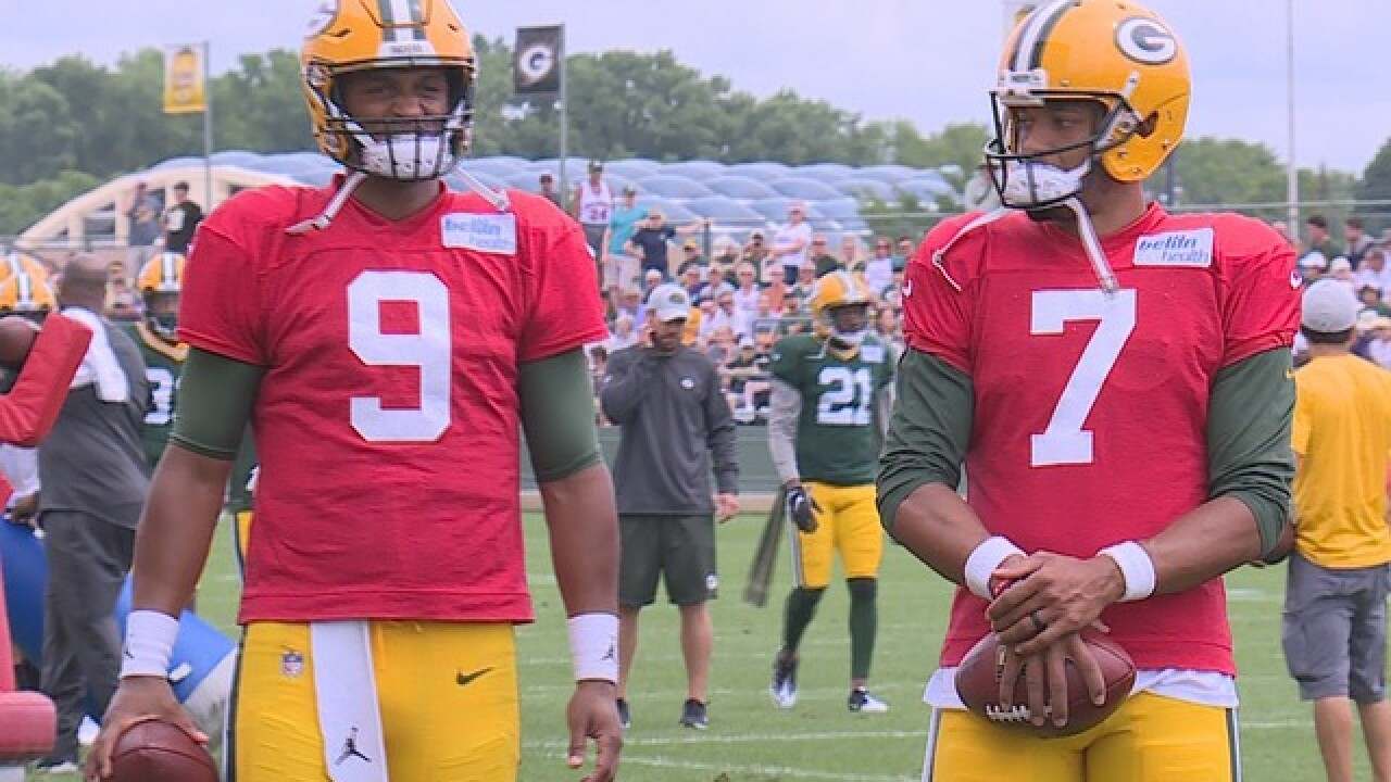 "Expect ""balance"" in backup QB battle for Thursday's first preseason game"