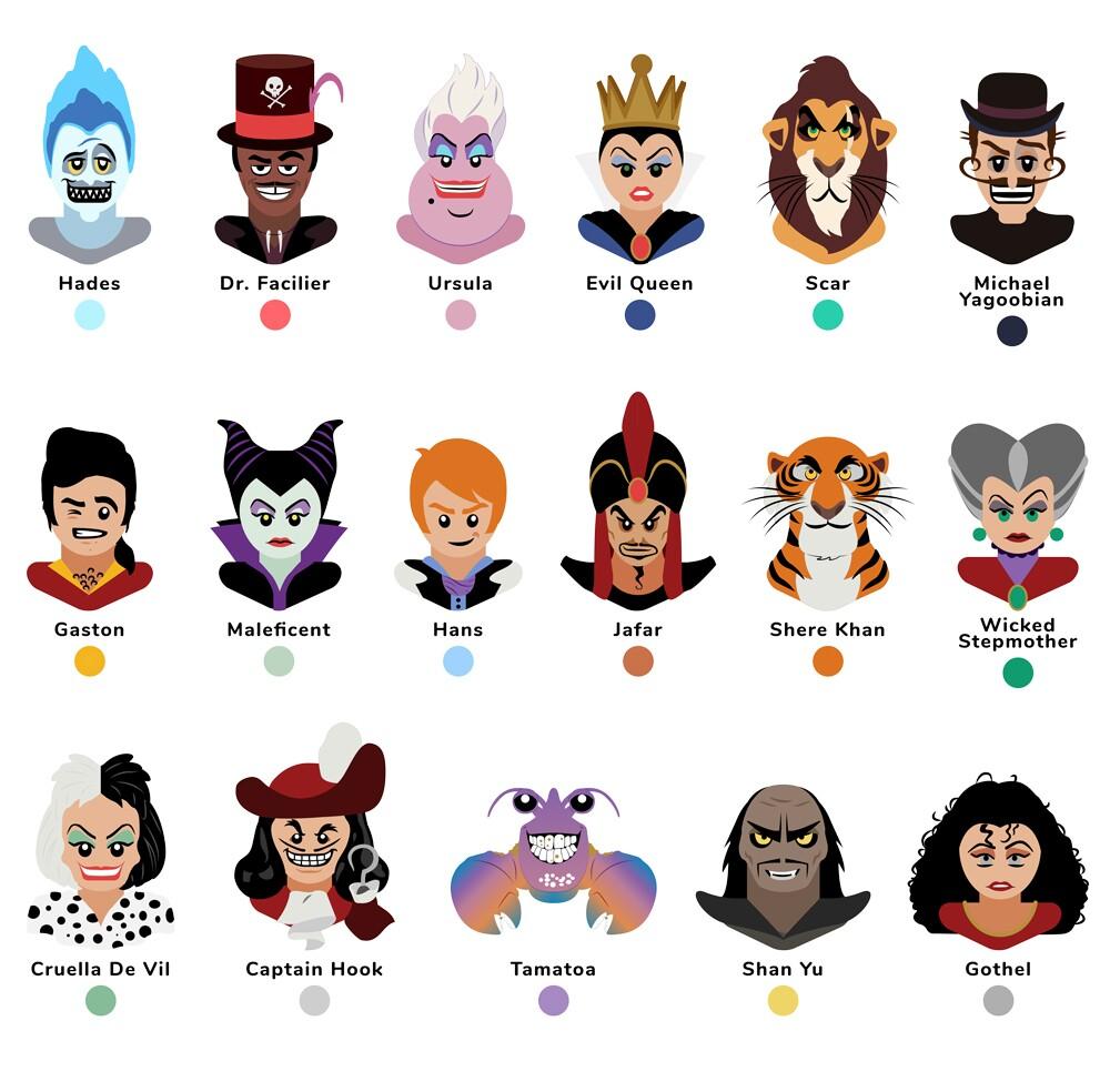 Disney Villains Legend