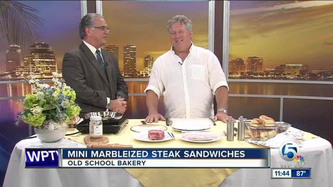 Old School Bakery discusses an extraordinary steak sandwich