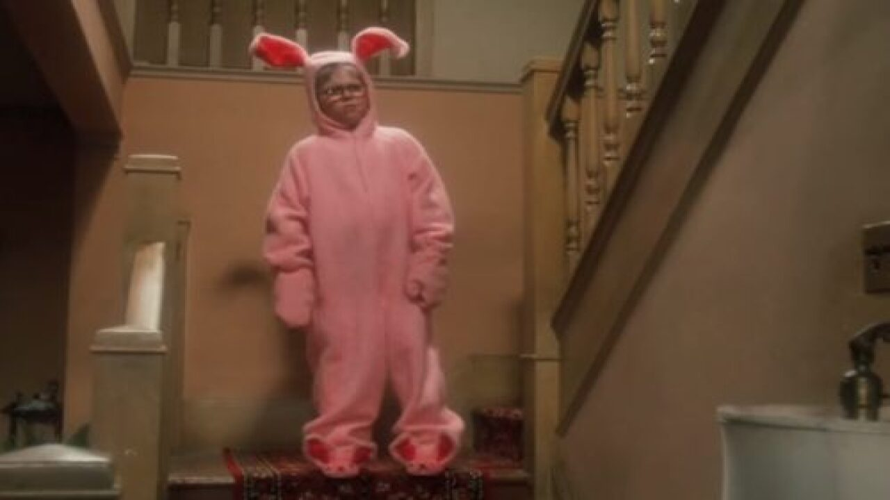 Build-A-Bear Released A 'Christmas Story' Ralphie Bear Wearing His Pink Bunny Suit