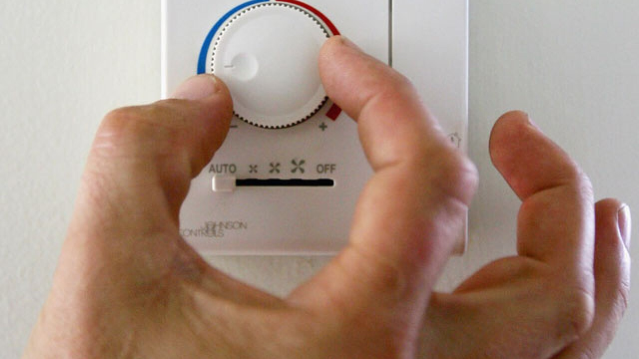 Man defends himself with toy in violent thermostat spat