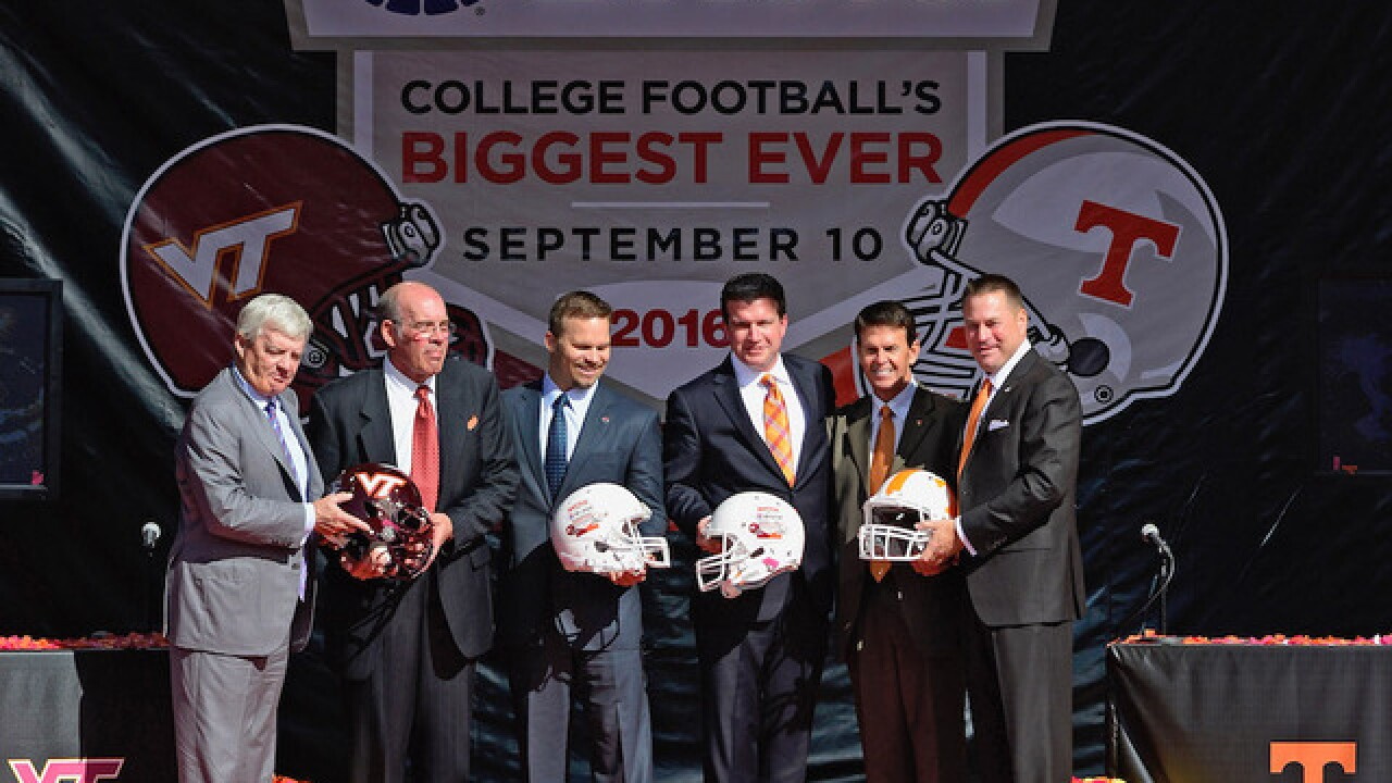 Battle at Bristol college football game will set record as largest ever