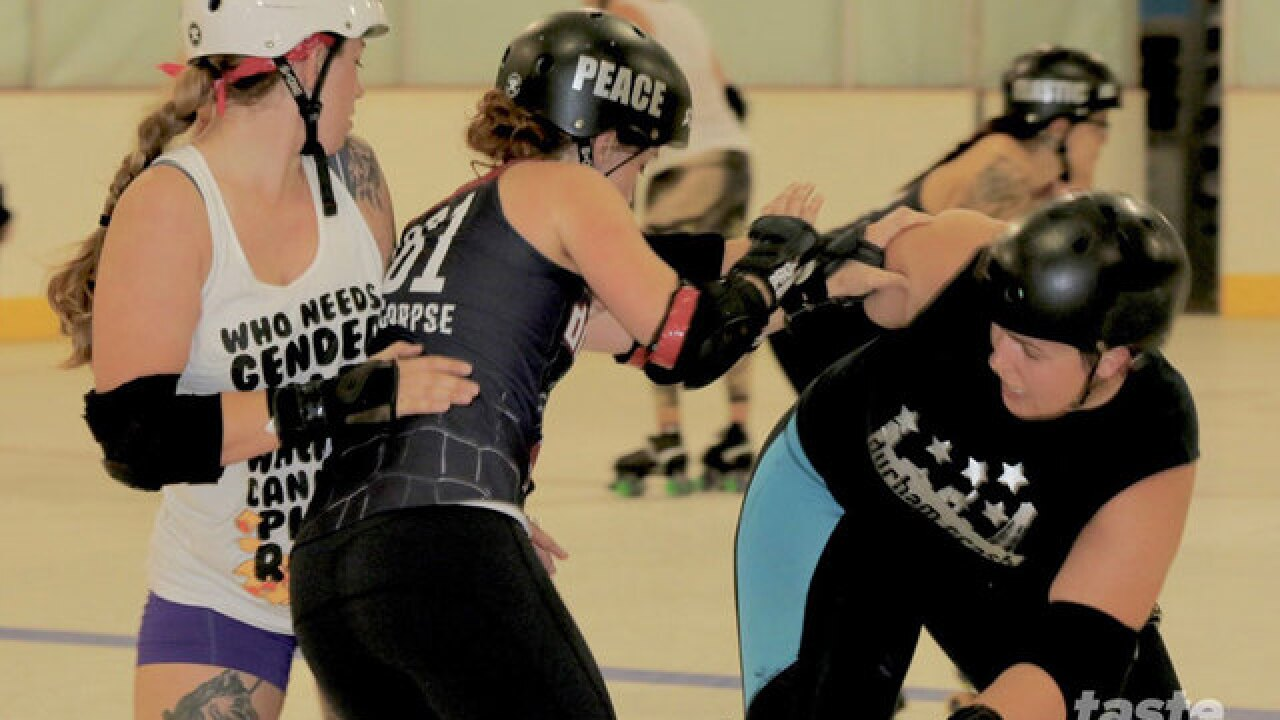 Meet the Dub City Roller Derby girls who practice at Skate Zone in Lake Worth