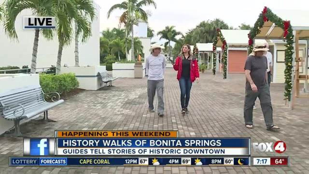 Guides begin history walks of Bonita Springs