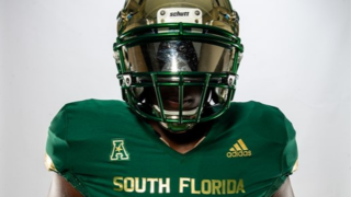 USF football new uniform 1