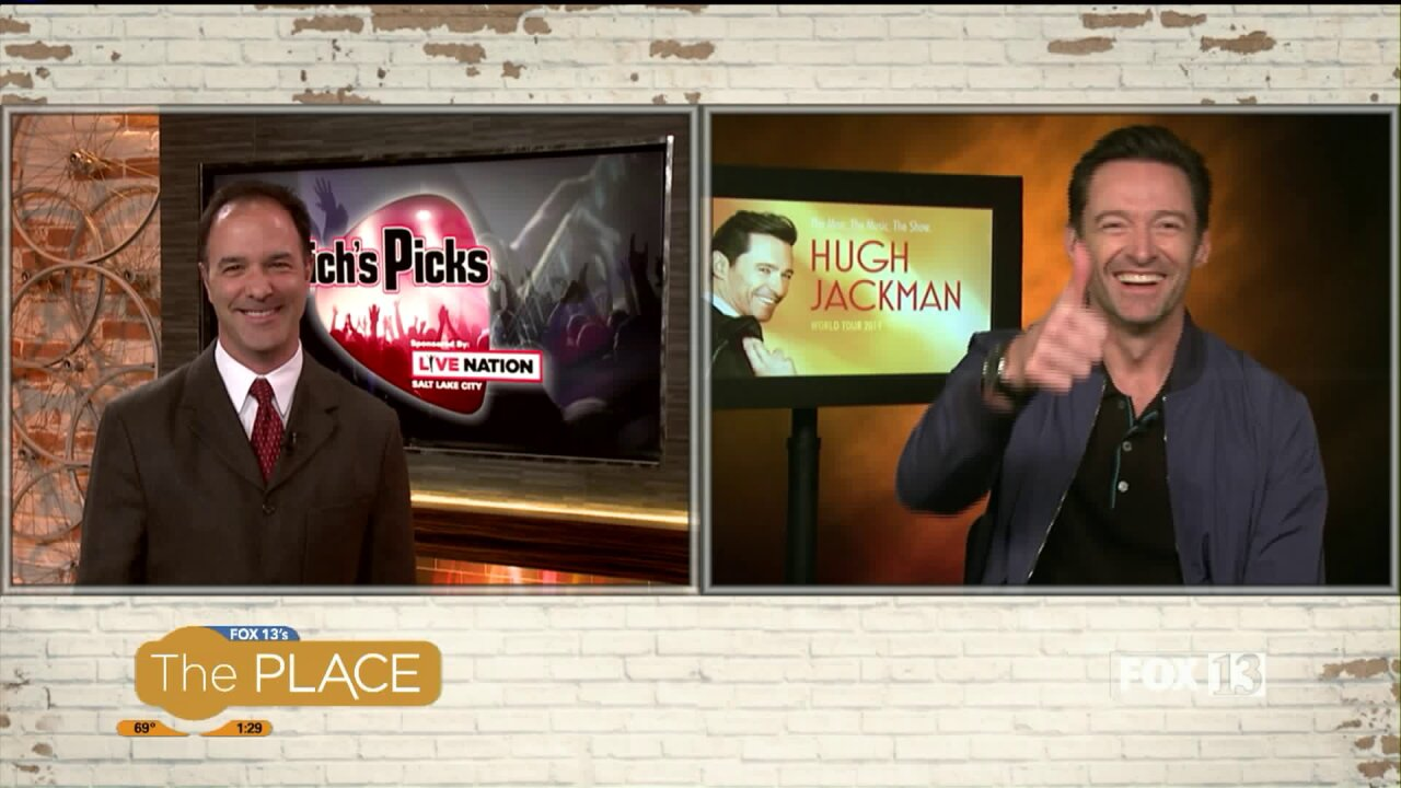 Hugh Jackman joins us live to talk about The Man. The Music. TheShow.