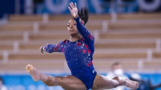 Outpouring of support for Simone Biles from Olympians past and present