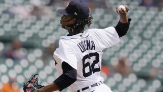 Jose Urena Twins Tigers Baseball
