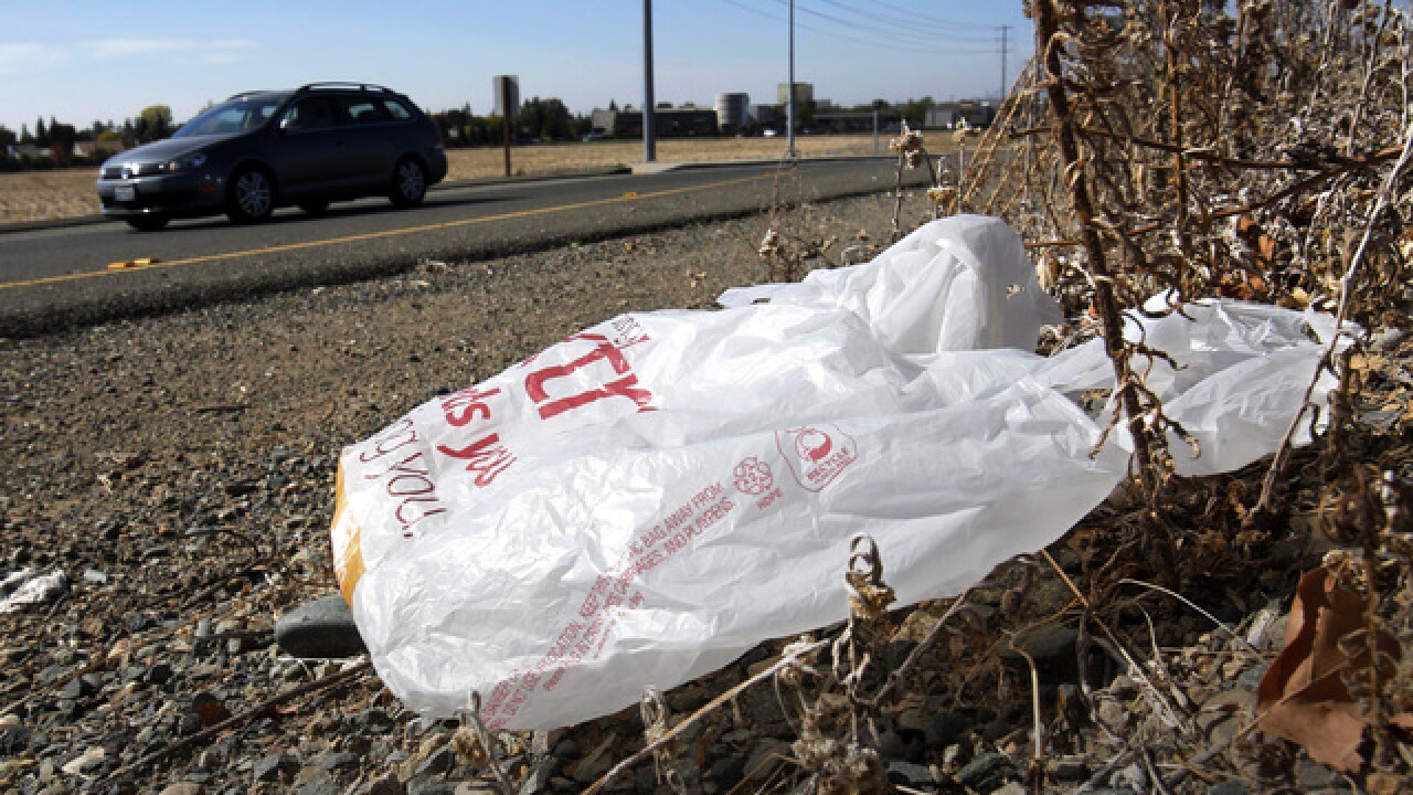 Oklahoma official wants to limit single-use plastic bags