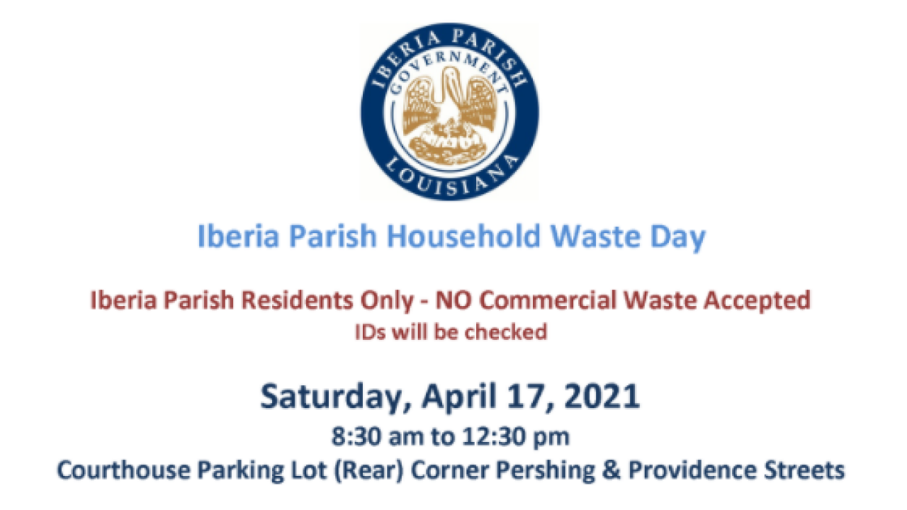 Iberia household waste day.PNG