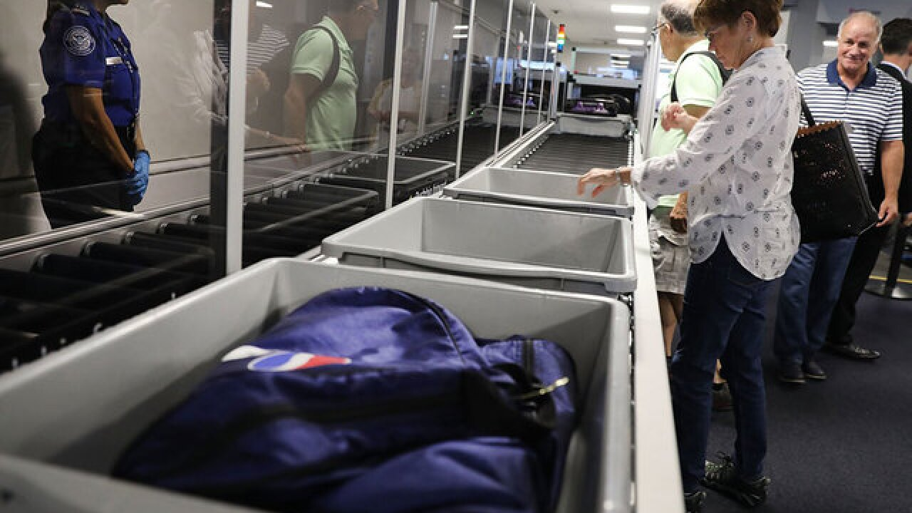 TSA steps up efforts to limit powder in carry-on