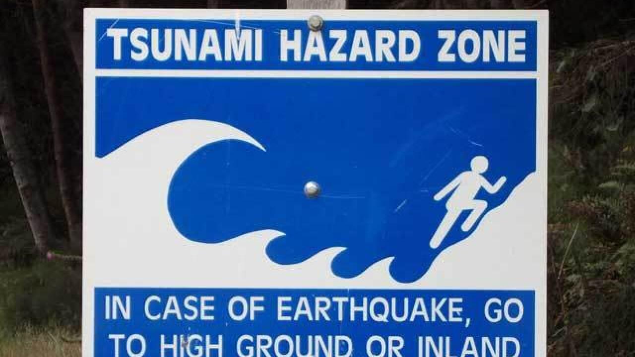 Preparing for a tsunami in San Diego