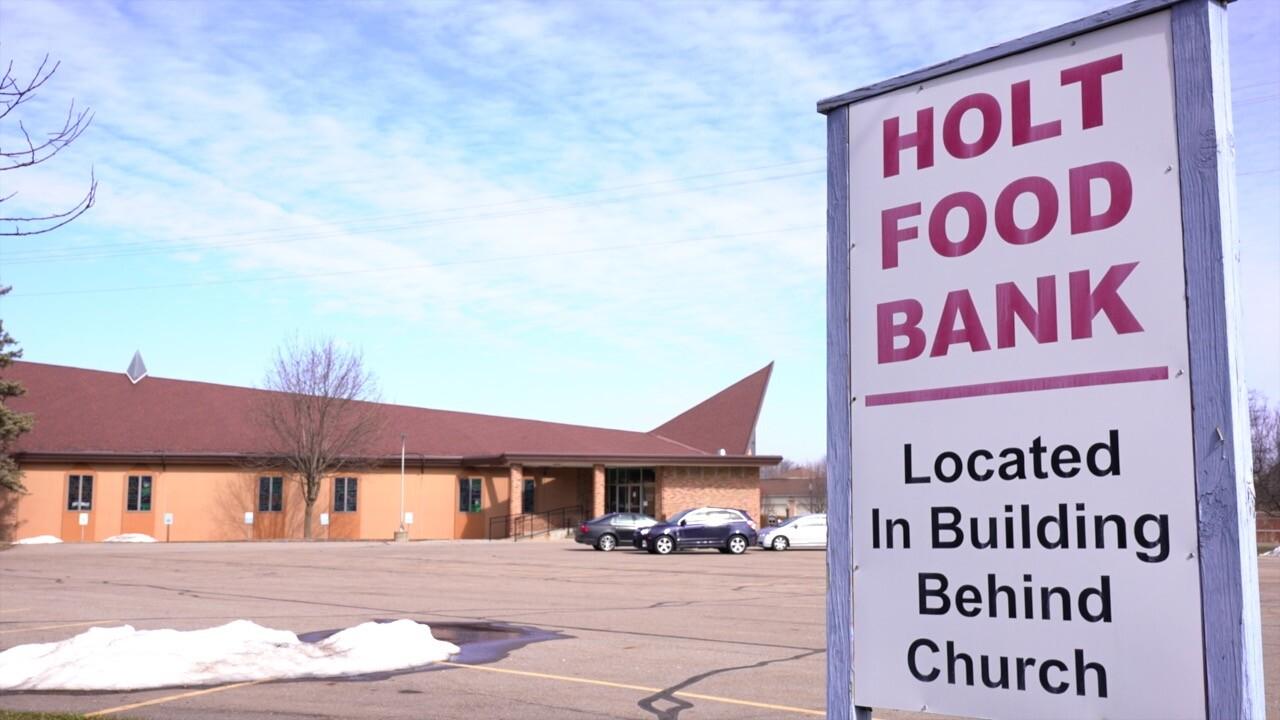 Holt Food Bank Sign
