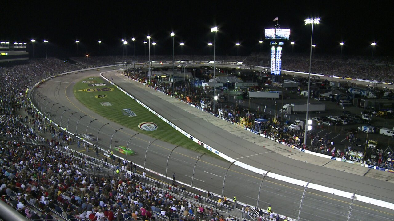 RIR president explains taking out backstretch seats