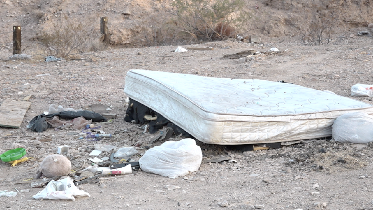 Trashy situation: Officials address illegal dumping in east Las Vegas neighborhood