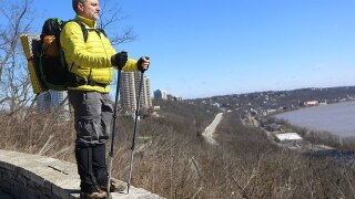Wild Cincy: Andy Niekamp, first to solo through-hike Buckeye Trail, hiked all four corners of Ohio