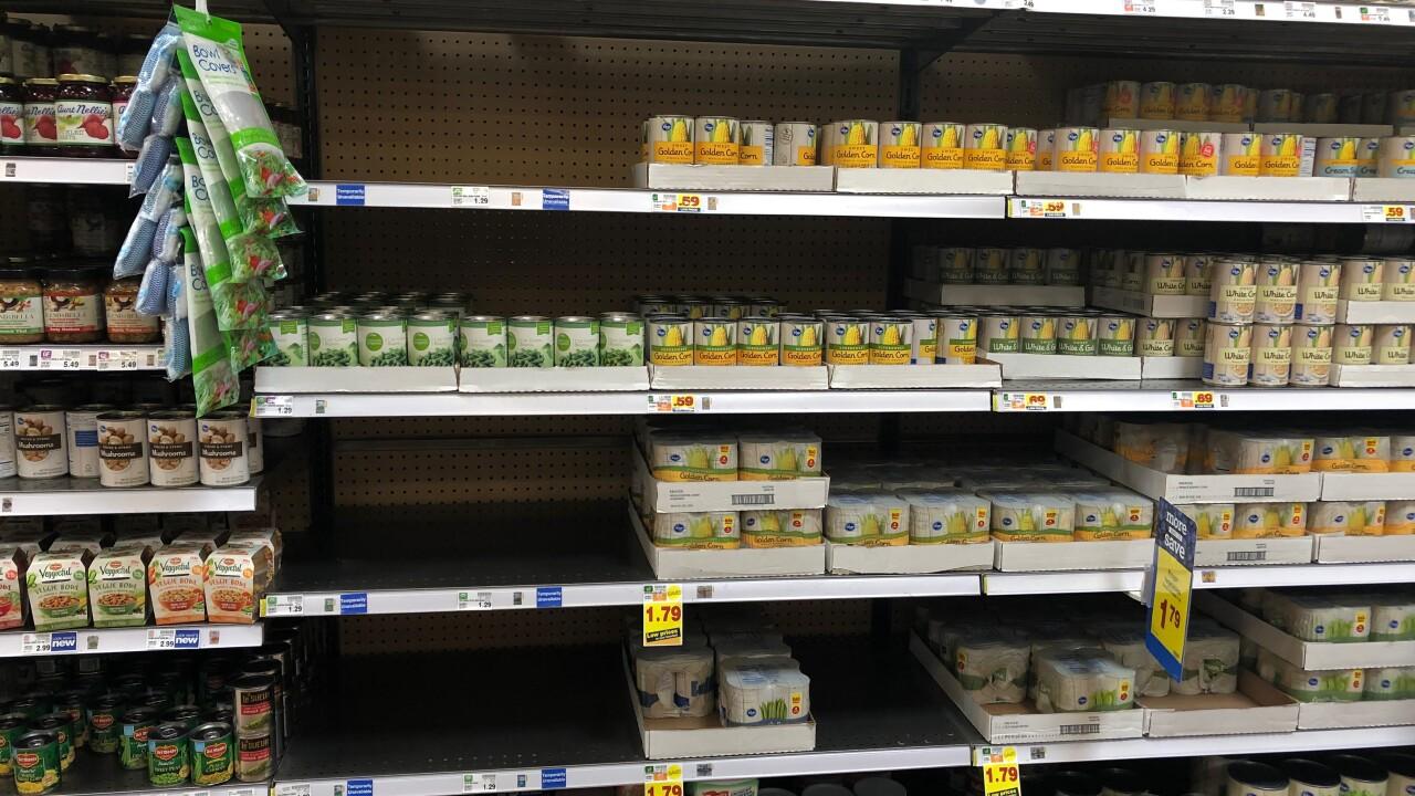 Groceries to grab ahead of HurricaneDorian