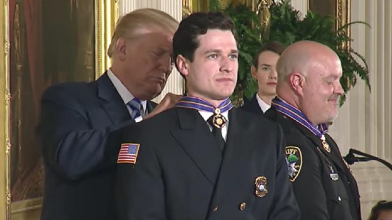 Local First Responder Awarded Medal Of Valor