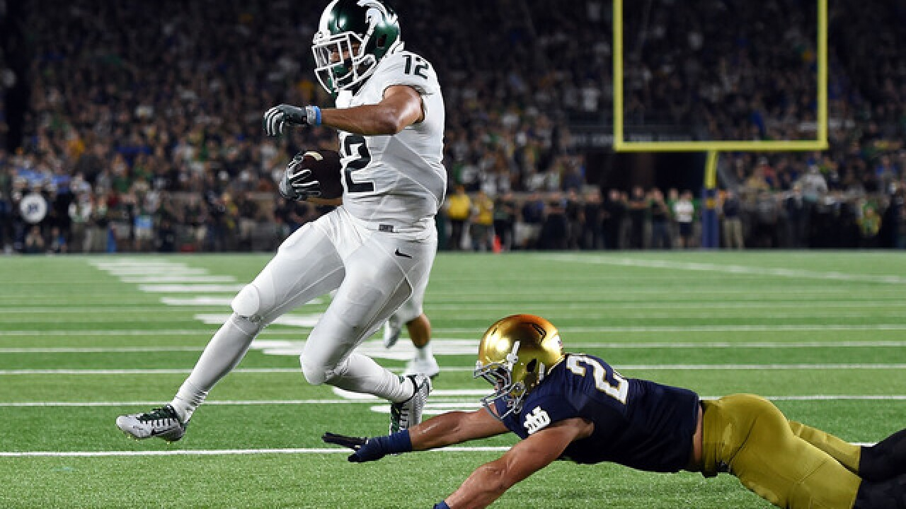 Notre Dame falls to Michigan State, 36-28