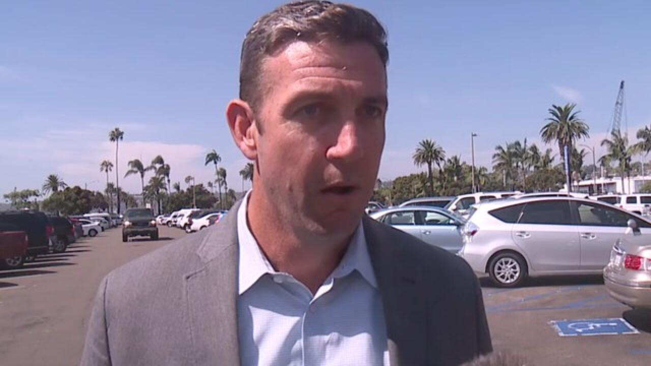 Rep. Duncan Hunter discusses charges of misuse of campaign funds, chances of re-election