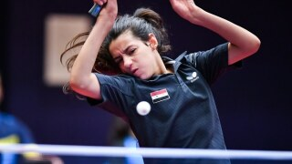 Syria's Hend Zaza, youngest Tokyo Olympian at 12 years old, out in first match