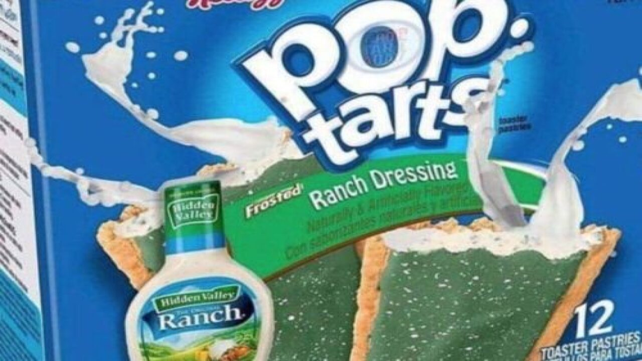 Someone Made A Hidden Valley Ranch-flavored Pop-Tarts Box And People Have A Lot Of Feelings
