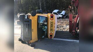 School bus crash in Sullivan County, New York