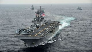 Trump: US 'destroyed' Iranian drone near USS Boxer