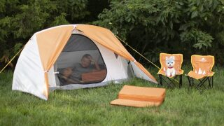 This Ozark Trail kids' camping set is on sale for $39 at Walmart (regularly $119)