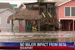 Coastal Bend spared by Beta, but damage worse in Houston