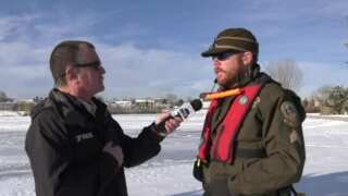 This Week in Fish and Wildlife: Ice fishing safety tips