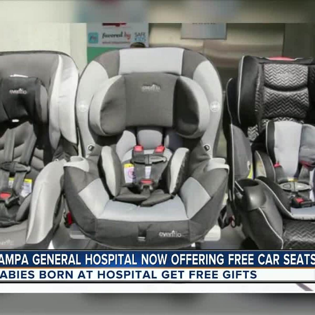 Get A Free Car Seat When You Deliver Your Baby At Tampa General Hospital