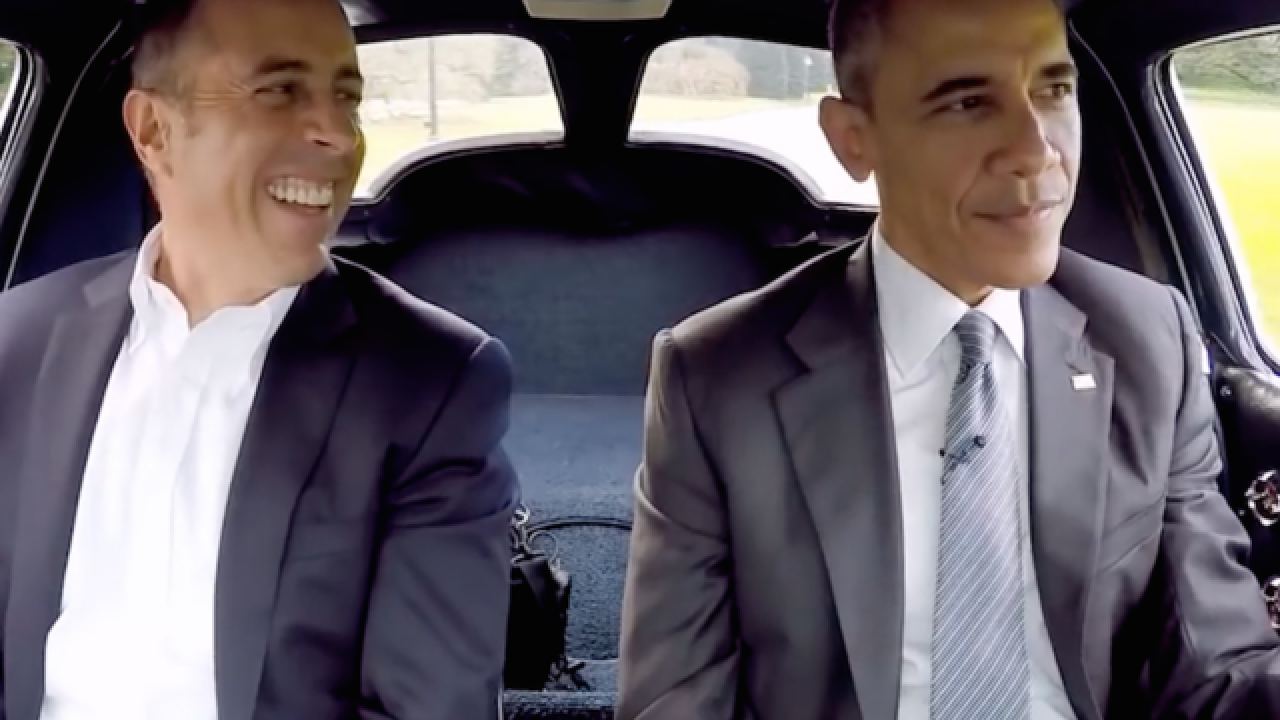'Comedian' Obama joins Seinfeld for coffee