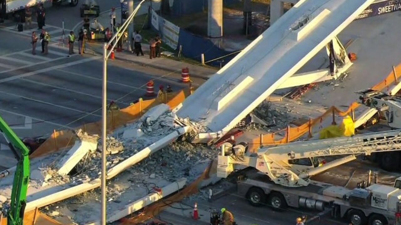 Rescue shifts to recovery in Florida bridge collapse that killed 6