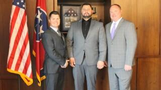 Frank Tate Vasilios Kapogianis Jeff Truitt VK Integrated Systems moves to Clarksville