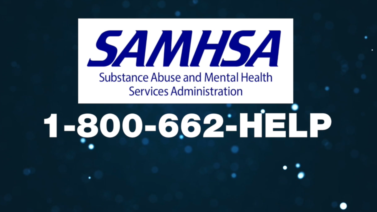 There's a 24/7 support line for addicts, but many don't know about it