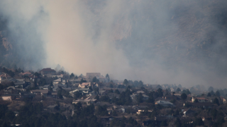 Evacuations underway, structures threatened due to Bear Creek Fire