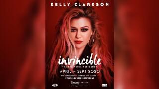 Kelly Clarkson getting her own Las Vegas residency