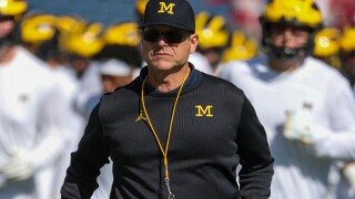 Harbaugh, No. 18 Michigan face stiff test vs No. 21 Gophers