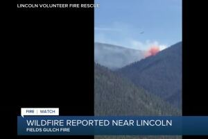 New wildfire burning near Lincoln