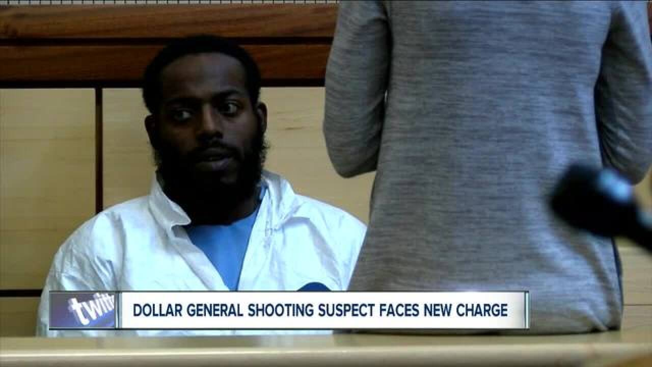Dollar General shooting suspect faces new charge