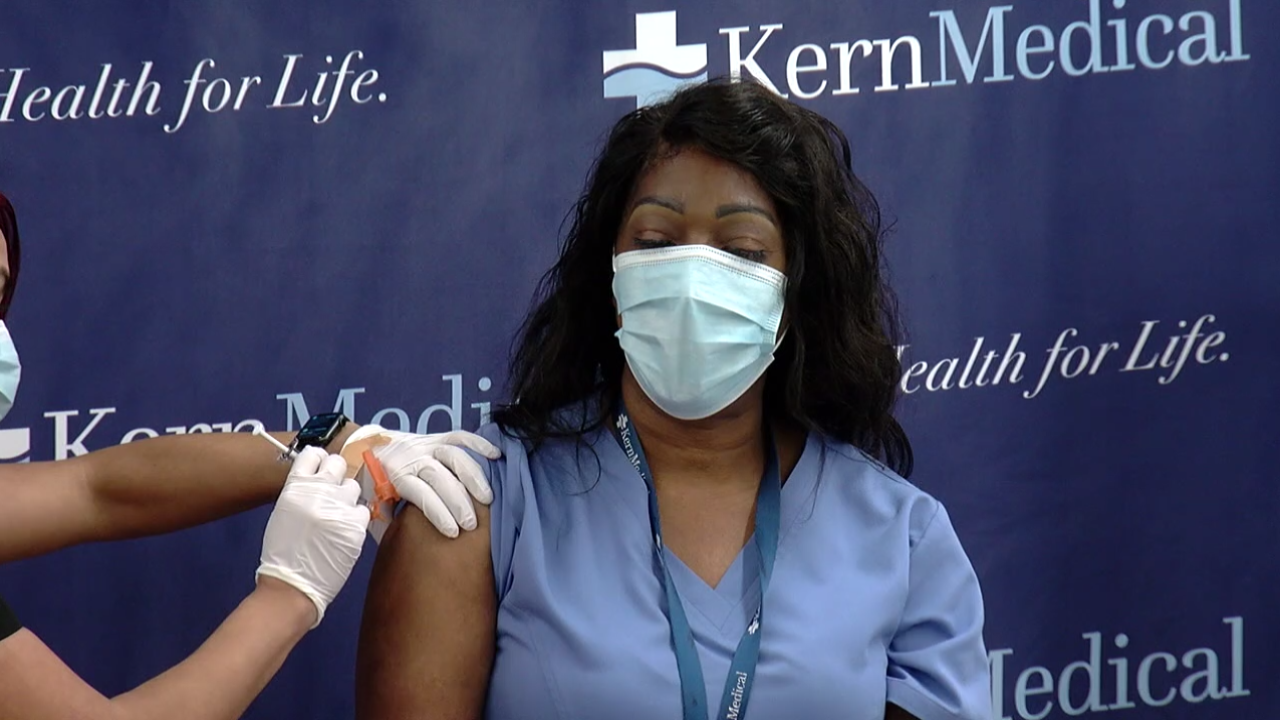 COVID-19 Vaccine Arrives in Kern County