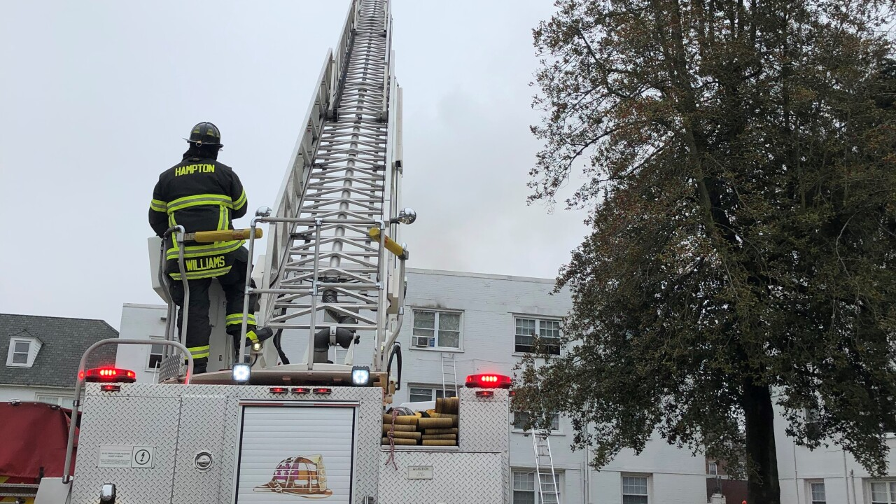 HP 2100 Kecoughtan Road apartment fire (December 21)