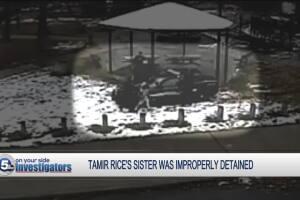 Tamir Rice's sister