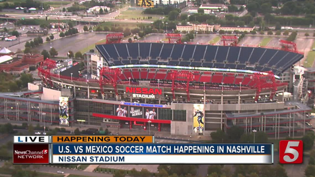 U.S. Men's Soccer Team Beats Mexico In Nashville