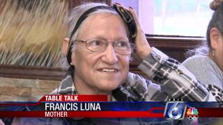 Francis Luna has stayed strong as she has battled cancer