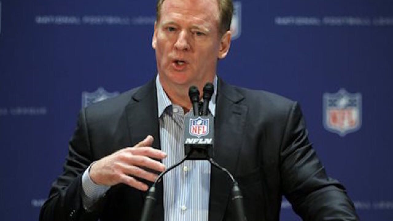 Goodell: Pats won't get 'Deflategate' picks back
