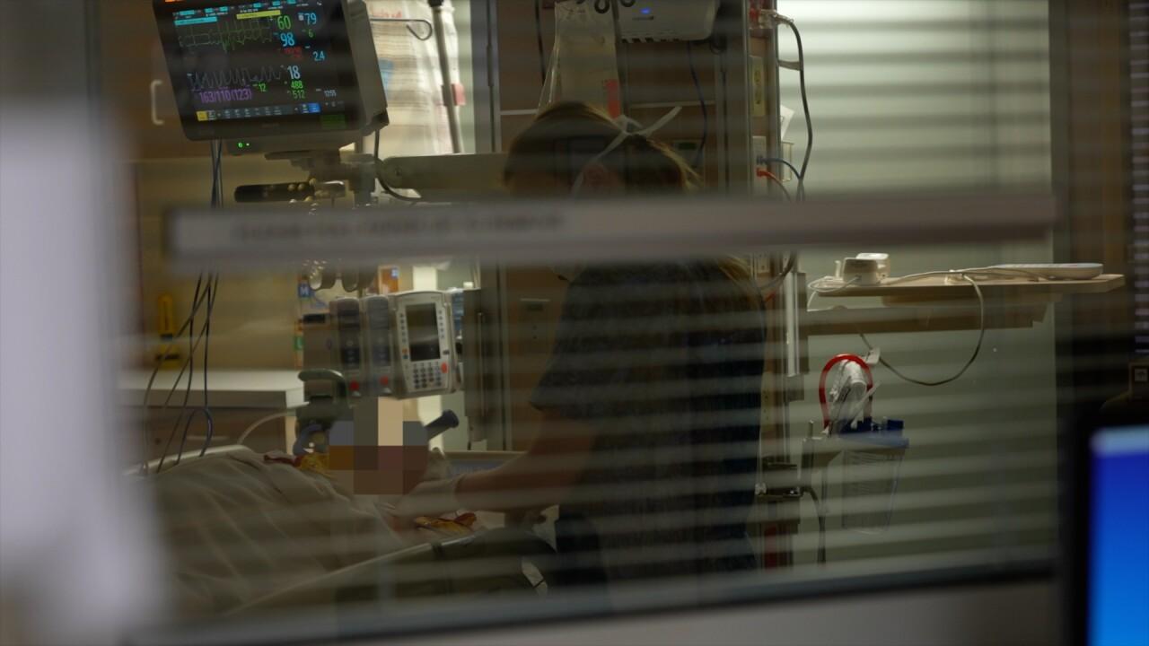 Border hospitals overrun