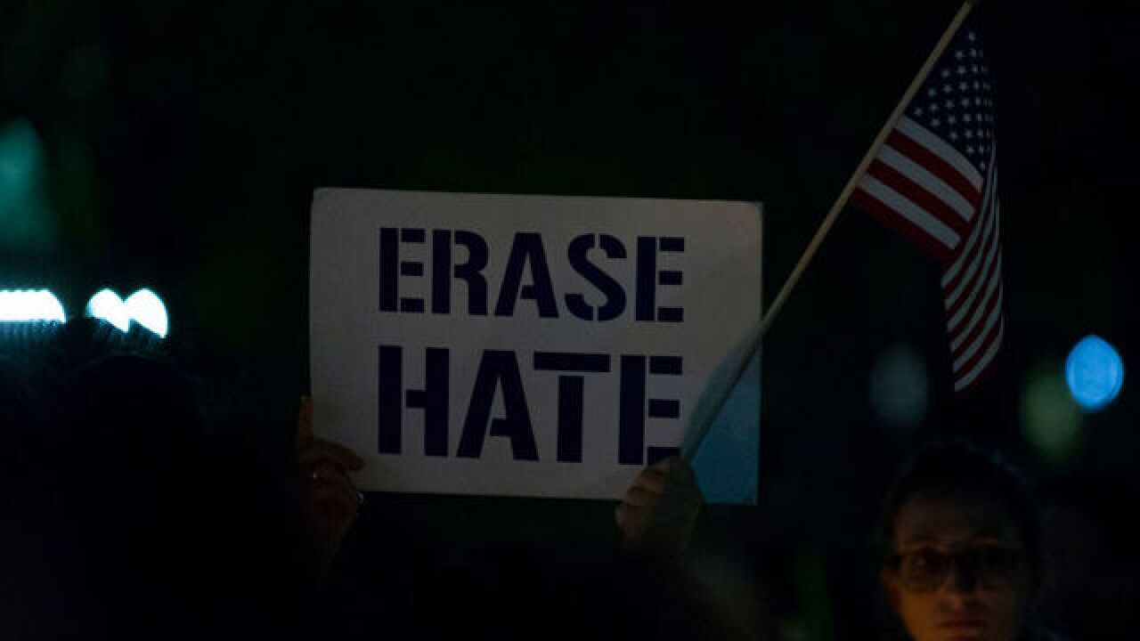 Hate crimes increased by 17 percent in 2017, FBI report finds